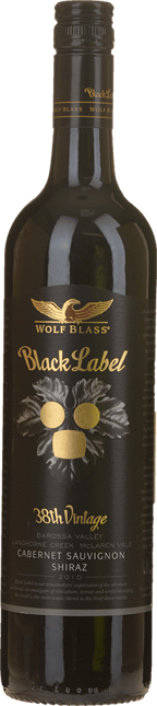WOLF BLASS WINES Black Label, South Australia 2010