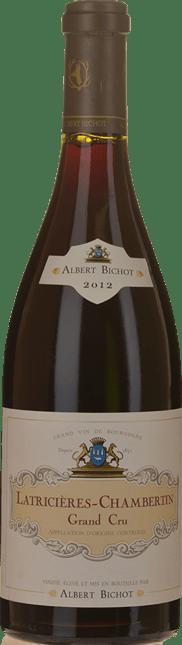 ALBERT BICHOT Grand Cru, Latricieres-Chambertin 2012