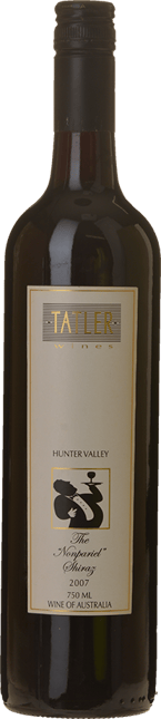 TATLER WINES The Nonpariel Shiraz, Hunter-McLaren Vale 2007