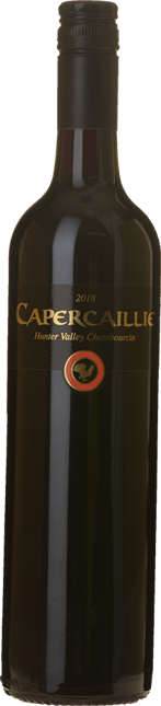 CAPERCAILLIE Chambourcin, Hunter Valley 2018
