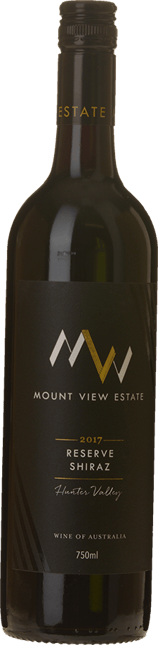 MOUNT VIEW ESTATE Reserve Shiraz, Hunter Valley 2017