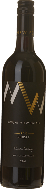 MOUNT VIEW ESTATE Shiraz, Hunter Valley 2017
