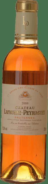CHATEAU LAFAURIE-PEYRAGUEY 1er cru classe, Sauternes 2008