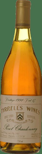 TYRRELL'S Vat 47 Pinot Chardonnay, Hunter Valley 1991