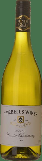 TYRRELL'S Vat 47 Chardonnay, Hunter Valley 2007