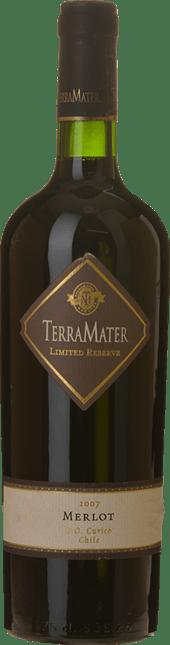 TERRAMATER Limited Reserve Merlot, Valle De Curico 2007