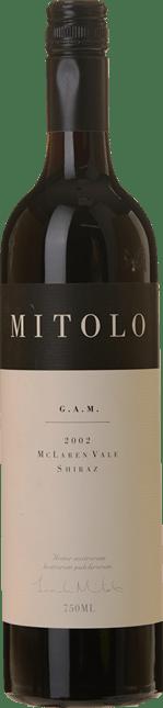 MITOLO WINES G.A.M. Shiraz, McLaren Vale 2002
