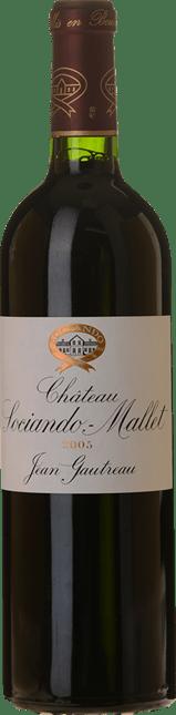 CHATEAU SOCIANDO-MALLET Grand bourgeois, Haut-Medoc 2005