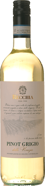 RECCHIA Pinot Grigio, Delle Venezie 2018