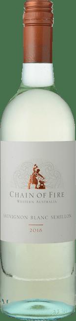 OATLEY WINES Chain of Fire Sauvignon Blanc-Semillon, Western Australia 2018