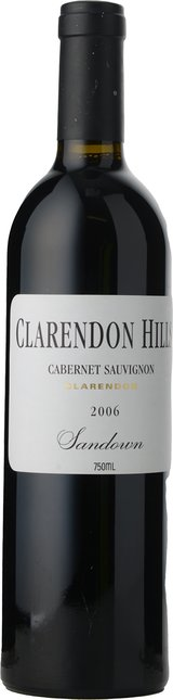 CLARENDON HILLS Sandown Vineyard Cabernet Sauvignon, McLaren Vale 2006