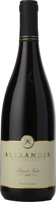 ALEXANDER VINEYARD Pinot Noir, Martinborough 2018