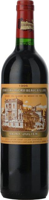 CHATEAU DUCRU-BEAUCAILLOU 2me cru classe, St-Julien 1996