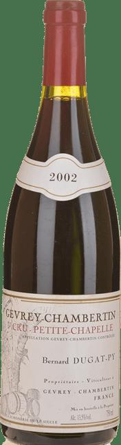 BERNARD DUGAT-PY Petite Chapelle 1er Cru, Gevrey-Chambertin 2002