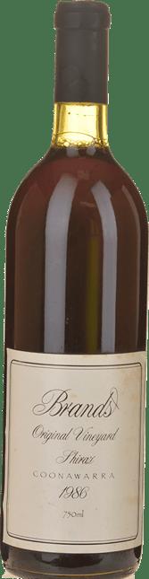 BRAND'S LAIRA Original Vineyard Shiraz, Coonawarra 1986