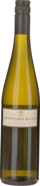 CRAWFORD RIVER WINES Reserve Riesling, Henty 2003