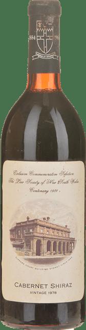 YALUMBA Exclusive Commemorative Selection Cabernet Shiraz, Barossa Valley 1978