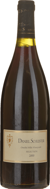DANIEL SCHUSTER Omihi Hills Selection Pinot Noir, Canterbury 2000
