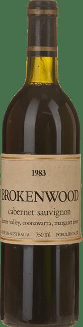 BROKENWOOD WINES Cabernet, Multi Area Blend 1983