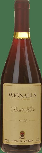 WIGNALLS WINES Pinot Noir, Western Australia 1993