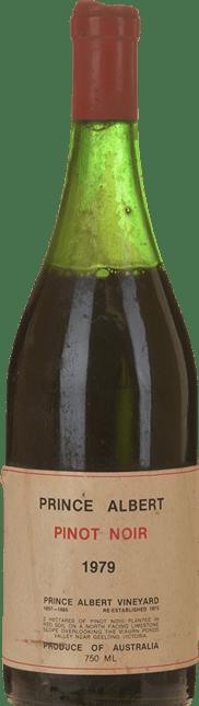PRINCE ALBERT VINEYARD Pinot Noir, Geelong 1979