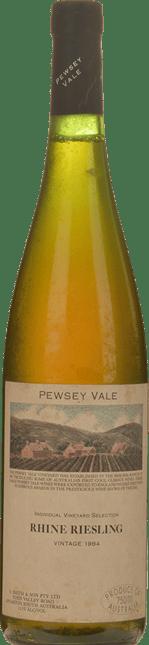 PEWSEY VALE Individual Vineyard Selection Rhine Riesling, Barossa 1984