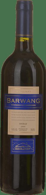 MCWILLIAM'S Barwang Vineyard Shiraz, Hilltops 1999