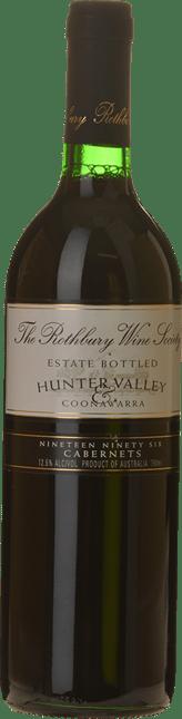 ROTHBURY WINE SOCIETY Cabernets, Hunter-Coonawarra 1996