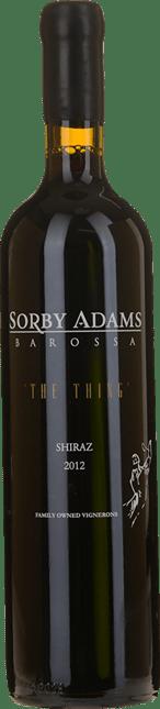 SORBY ADAMS WINES The Thing Individual Vineyard Shiraz, Eden Valley, Barossa 2012