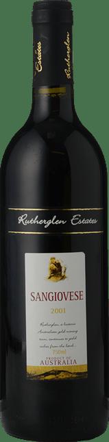 RUTHERGLEN ESTATES Sangiovese, Rutherglen 2001