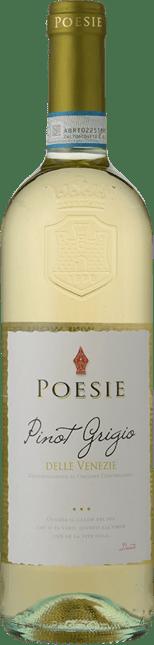LE POESIE  Pinot Grigio, Delle Venezie IGT 2019