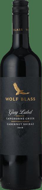 WOLF BLASS WINES Grey Label Cabernet-Shiraz, Langhorne Creek 2018