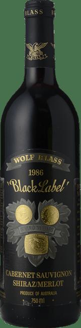 WOLF BLASS WINES Black Label, South Australia 1986
