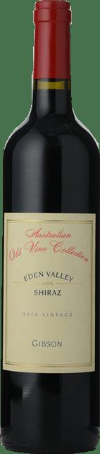 GIBSON BAROSSA VALE WINES Australian Old Vine Collection Shiraz, Eden Valley 2016