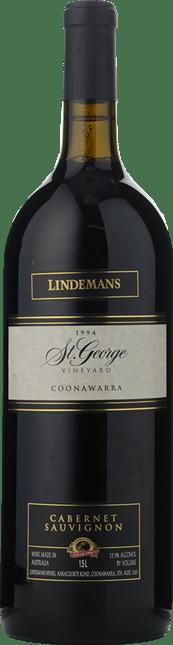 LINDEMANS St. George Vineyard Cabernet Sauvignon, Coonawarra 1994