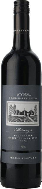 WYNNS COONAWARRA ESTATE Messenger Single Vineyard Cabernet Sauvignon, Coonawarra 2005