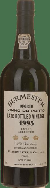 BURMESTER Late Bottled Extra Selected Vintage Port, Oporto 1995