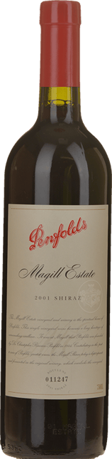 PENFOLDS Magill Estate Shiraz, Adelaide 2001