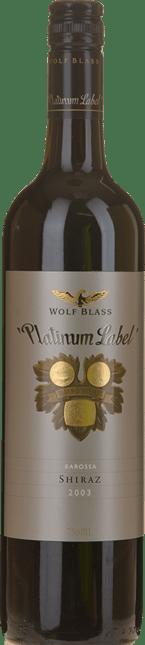 WOLF BLASS WINES Platinum Label Shiraz, Barossa 2003