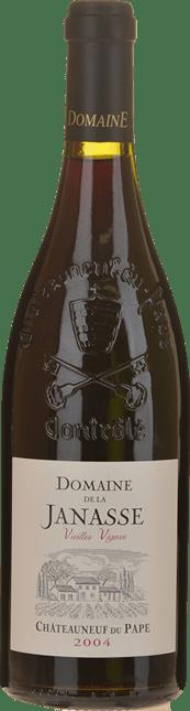 DOMAINE DE LA JANASSE Vieilles Vignes, Chateauneuf-du-Pape 2004