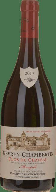 DOMAINE ARMAND ROUSSEAU Clos du Chateau , Gevrey-Chambertin 2017