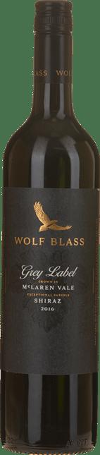 WOLF BLASS WINES Grey Label Shiraz, McLaren Vale 2016