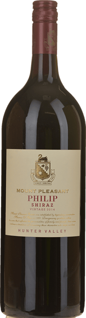 MOUNT PLEASANT Philip Shiraz, Hunter Valley 2014