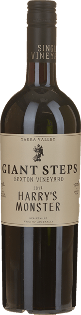 GIANT STEPS Harry's Monster Single Vineyard Merlot Cabernet Cabernet Franc, Yarra Valley 2017