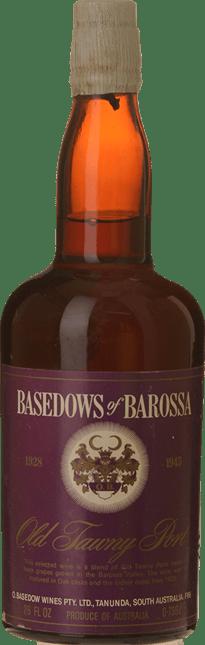 BASEDOW WINES 1928/1945 Old Tawny Port, Barossa Valley NV