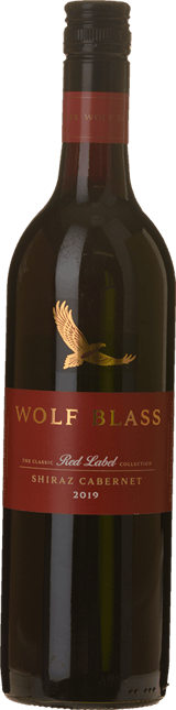 WOLF BLASS WINES Red Label Shiraz Cabernet Blend, South Australia 2019