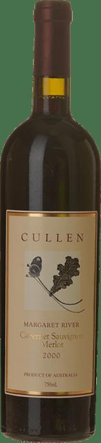 CULLEN WINES Cabernet Merlot (Now Diana Madeline - Pre 2001), Margaret River 2000