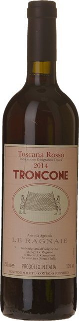 LE RAGNAIE Troncone, Toscana Rosso IGT 2014