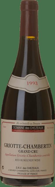 DOMAINE DE CHEZEAUX, Griotte-Chambertin 1993