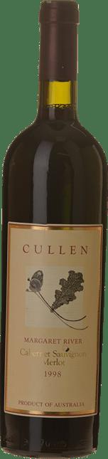 CULLEN WINES Cabernet Merlot (Now Diana Madeline - Pre 2001), Margaret River 1998